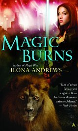 Magic Burns by Ilona Andrews