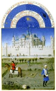 Medieval castle detail